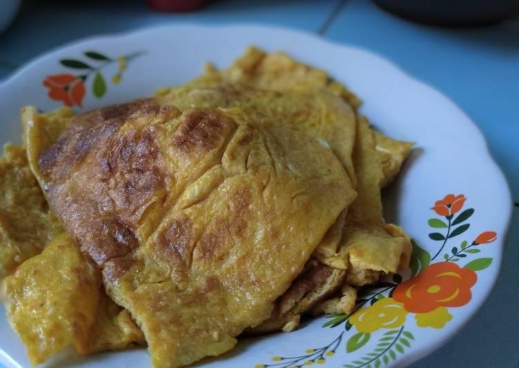 Telur dadar maizena