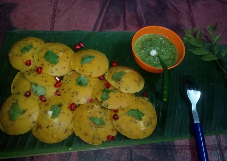 10 Minute How to Make Spring Karnataka idli and thokku coriander leaves chutney