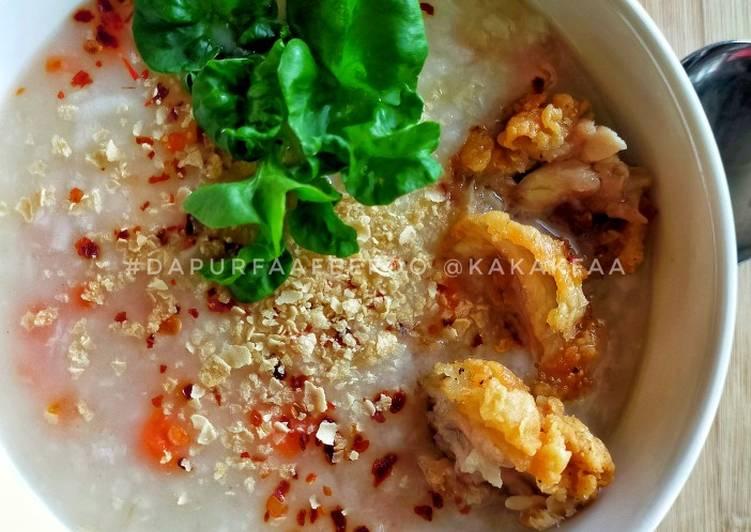 Bubur Nasi Nestum (Cara Express) - resepipouler.com