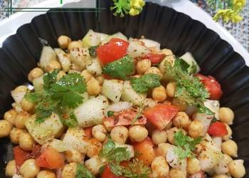 How to Make Perfect Spicy chickpeas Salad
