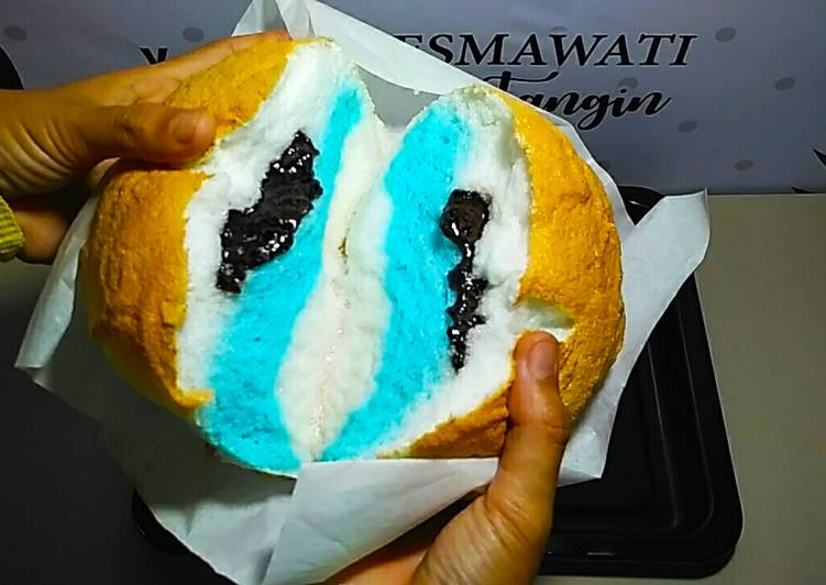 Cloud Bread Roti Awan Isi Coklat