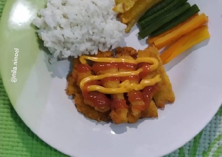 Chicken katsu homemade