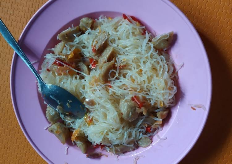 Resep Bihun & Bakso Goreng Ala Anak Kost 😍 Paling dicari