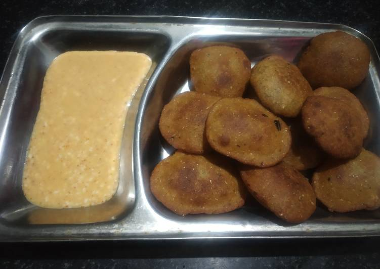 Recipe: Tasty Millet coin tikki
