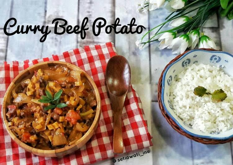 Curry Beef Potato
