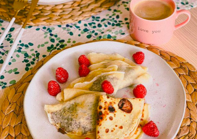 Crepes With Nutella And Banana Recipe By Yanina Is Cooking Cookpad