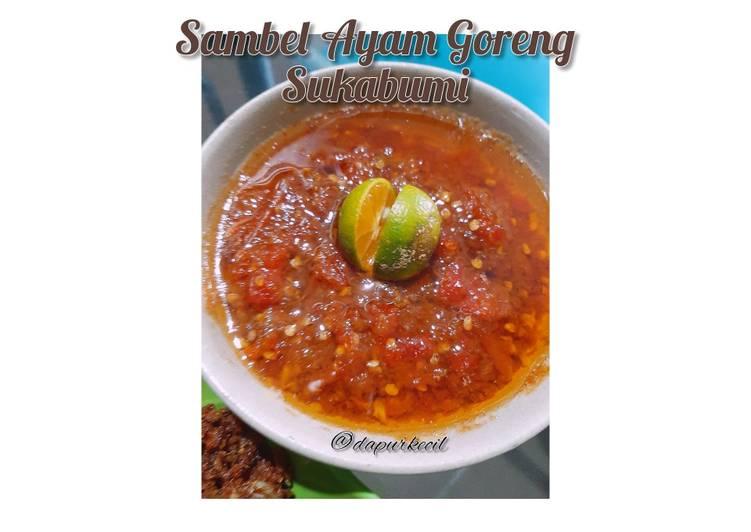 Sambel Ayam Goreng Sukabumi