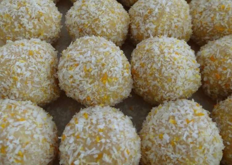 Simple Way to Prepare Perfect Lemon balls
