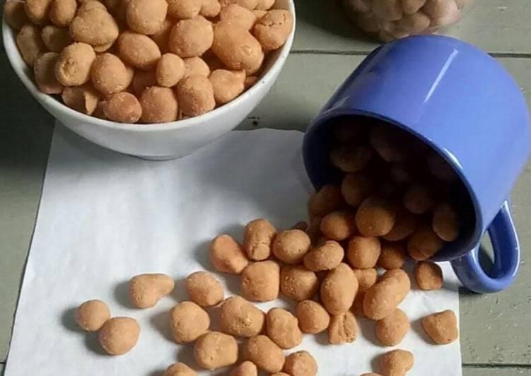 Resep Kacang Telur Renyah Oleh Yuliana Menjoi Cookpad