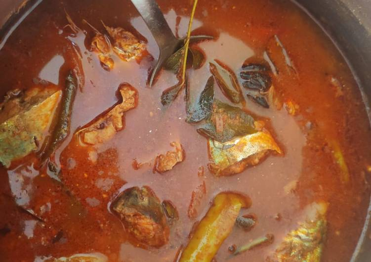 Kerala style fish curry