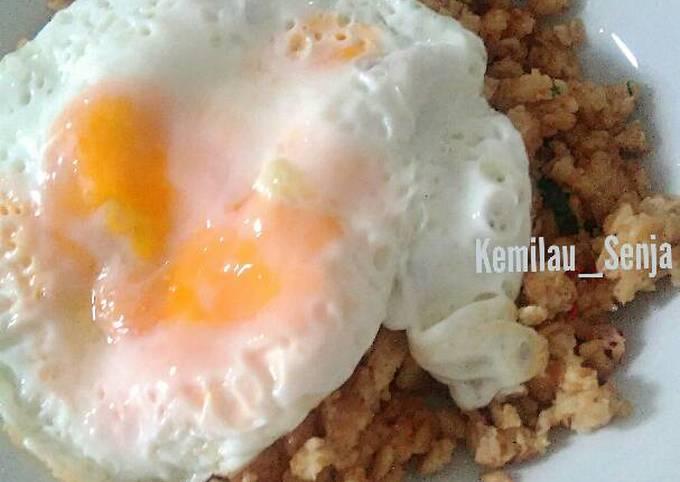 Oat Meal Goreng (aka. Nasi Goreng)
