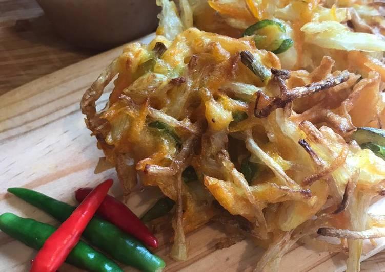 Bakwan sayur - Veggie fritters