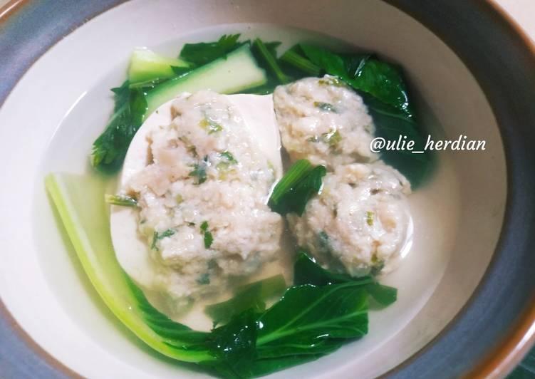 Resep Sup tahu (putih) bakso Yang Simple Lezat
