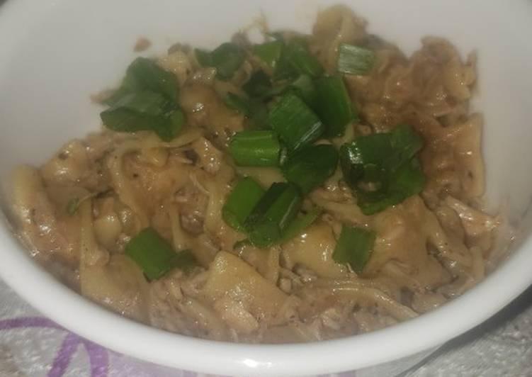 Instant Pot shredded pork casserole