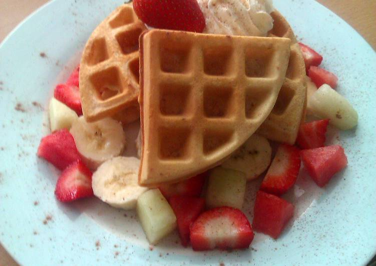 The Best Soft and Chewy Dinner Easy Quick Vickys Sweet Waffles, GF DF EF SF NF