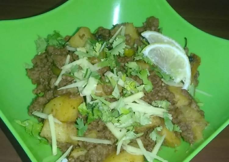 30 Minute Dinner Ideas Diet Perfect Keema aloo or khara masala keema