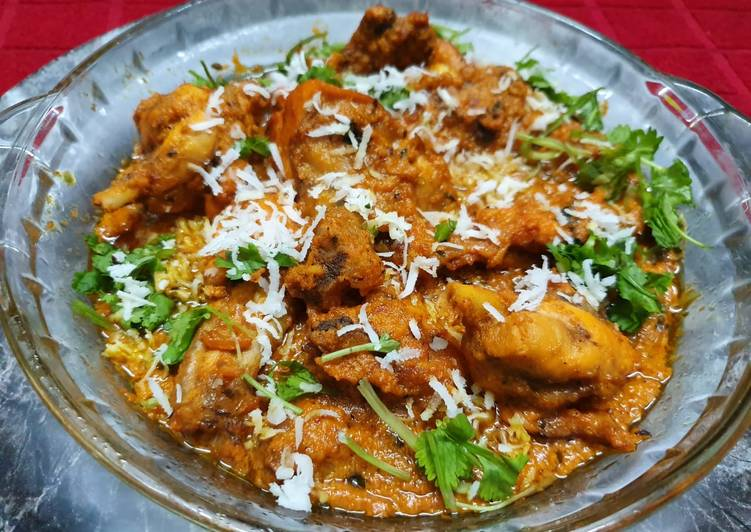 Get Fresh With Fennel Coconut Rogani Chicken