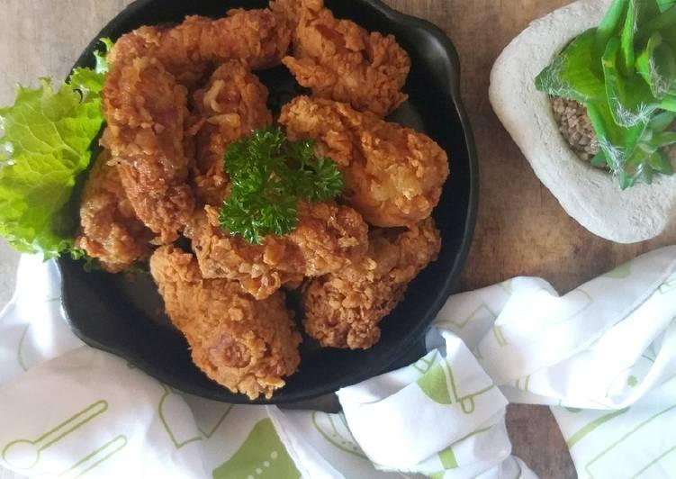 Ayam Goreng Korea ala Extreme Job