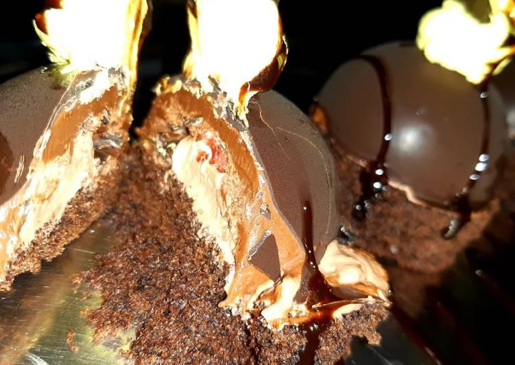 Nutella Cake Dome