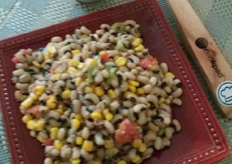 Masala bean salad