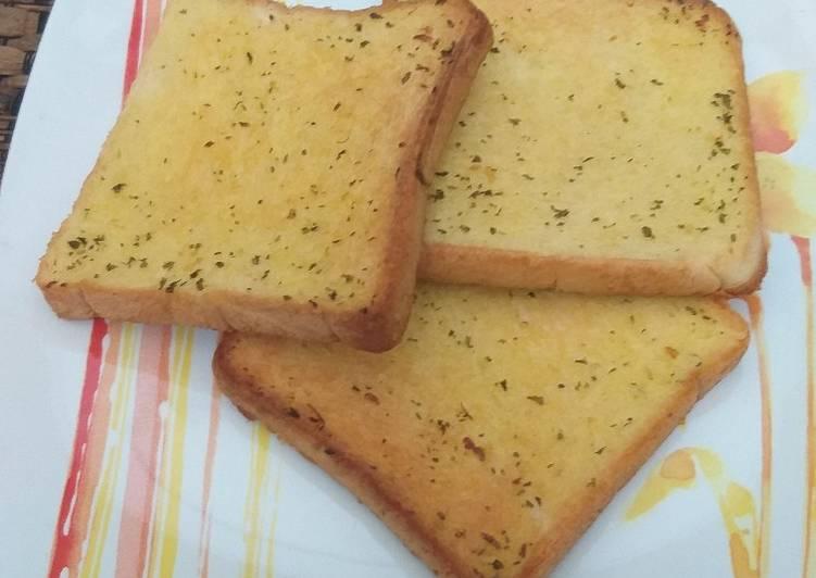 Resep Garlic bread sederhana Paling Joss