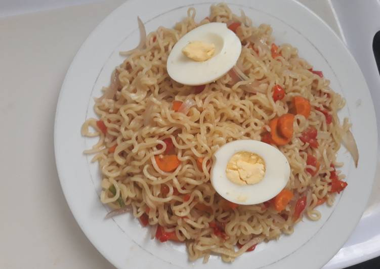 30 Minute How to Prepare Love Indomine with egg