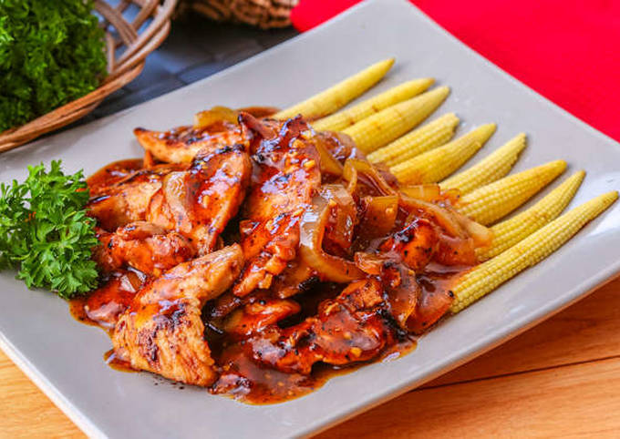 Resep Ayam Bakar Black Pepper