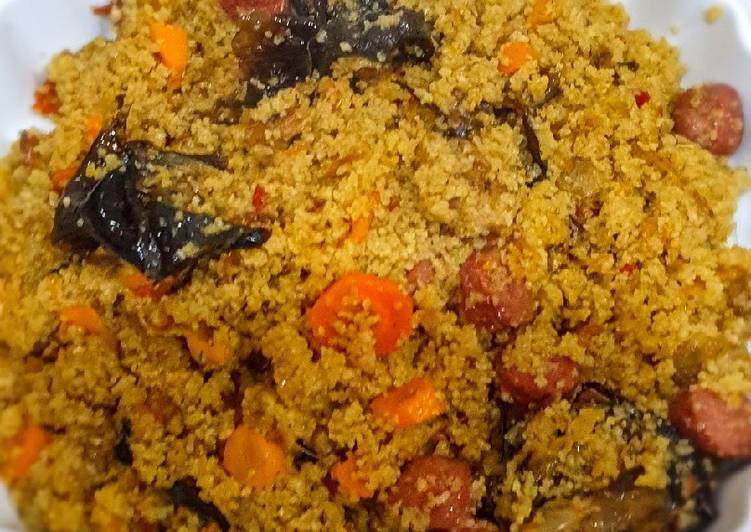 Couscous stir -fry
