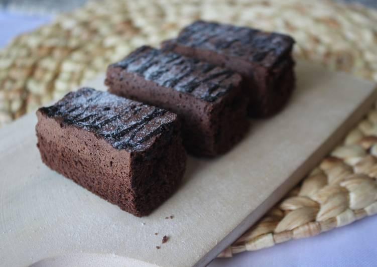 Brownies panggang chocolatos sederhana