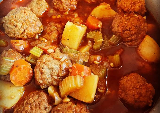 Recipe of Instant Pot Meatball Stew Very Simple