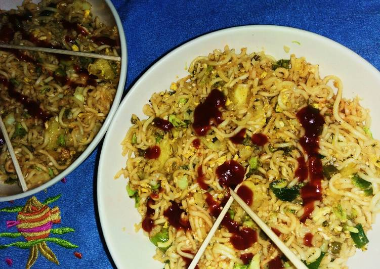 How to Make Super Quick Homemade Quick fix Vegetable Chow-Mein