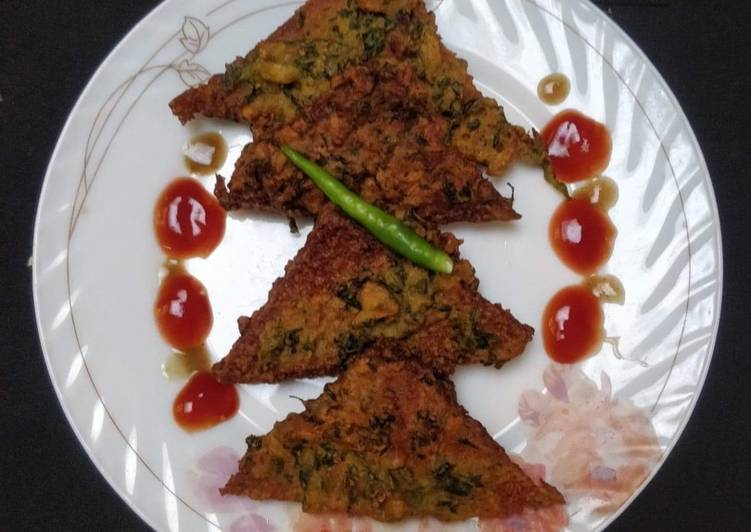 Recipe of Perfect Crispy Bread Pakoras