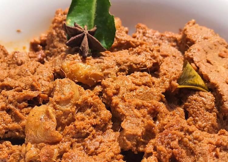 Rendang Daging Padang Ala Icha Irawan