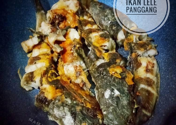 Ikan lele panggang (di wajan anti lengket)