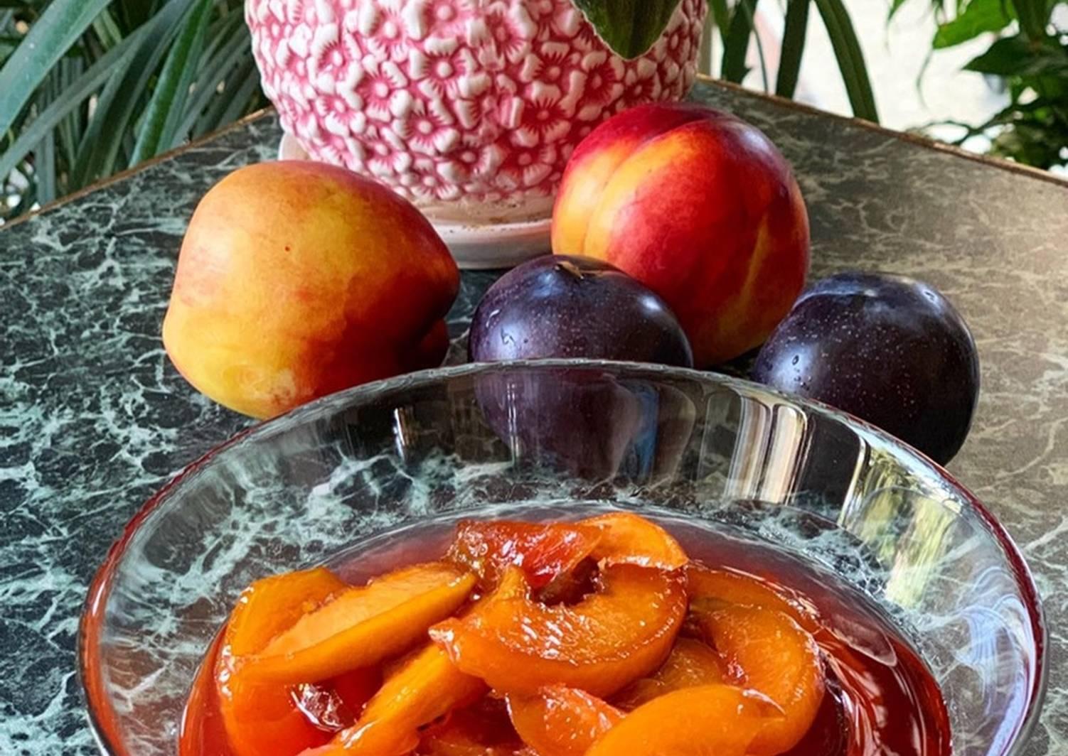 Варенье из нектаринов рецепт с фото