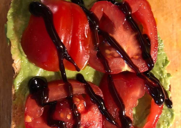 Easiest Way to Prepare Perfect Tomato & Avo toast