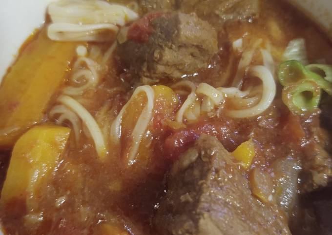 Instant Pot Chinese Beef soup