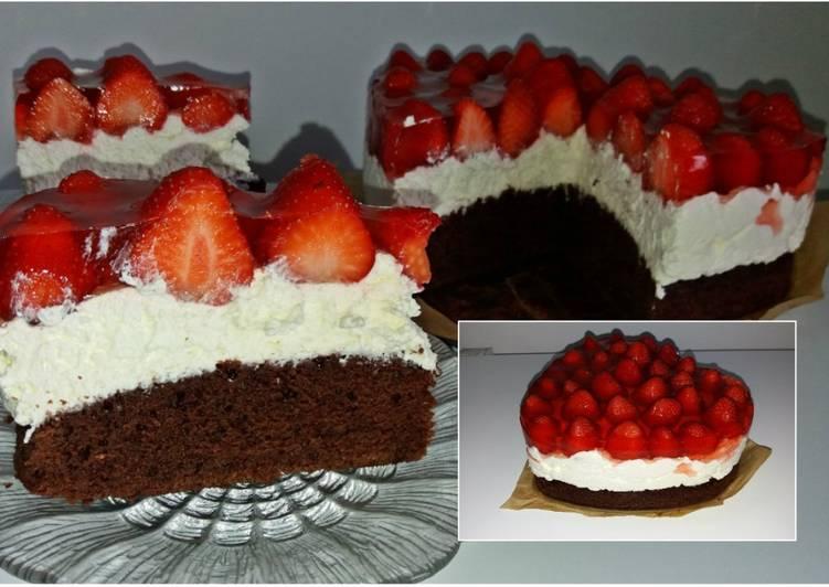 Ciasto walentynkowa rozkosz