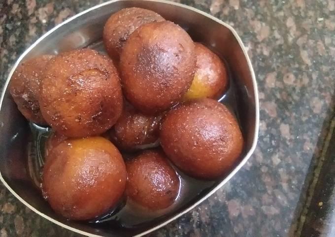 Recipe: Perfect Vrat wale gulab jamun