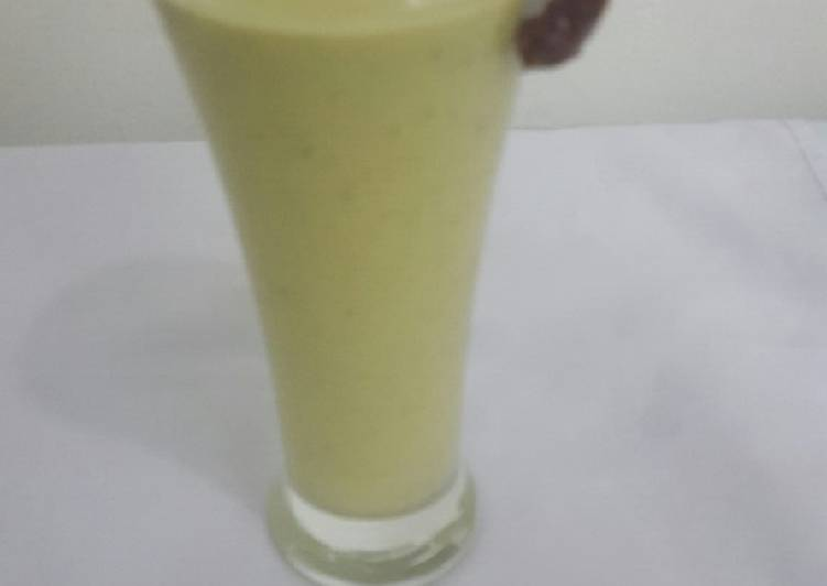 How to Prepare Appetizing Avocado and dates shake