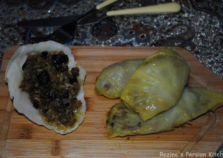Persian cabbage rolls