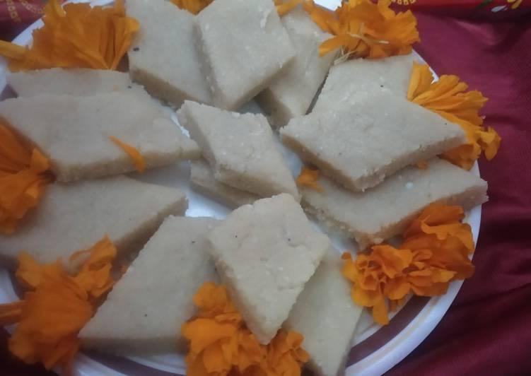 Recipe of Award-winning Kaju peanut katli