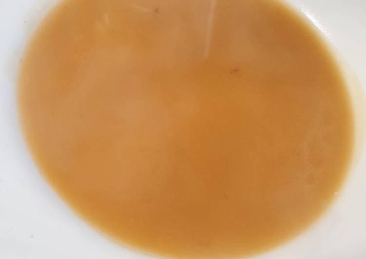 Sopa express de cocido/pollo en mambo