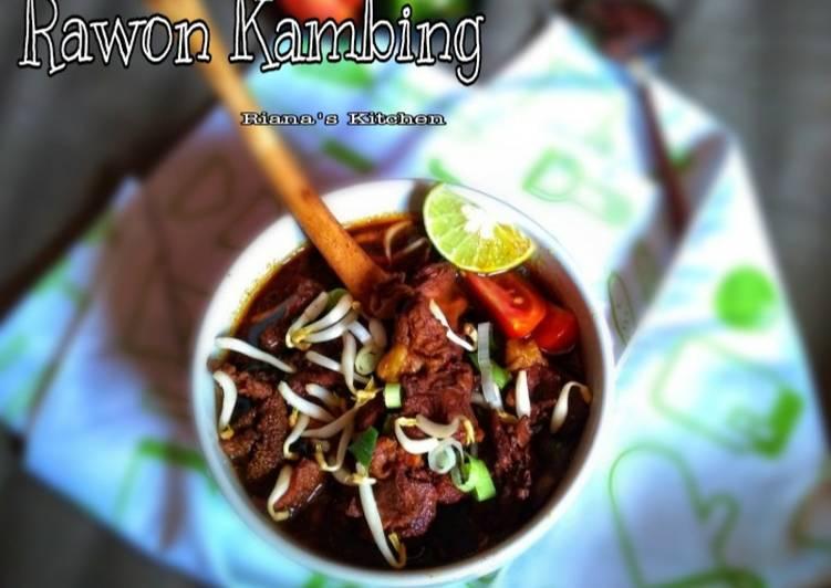 #Rawon Kambing no bau