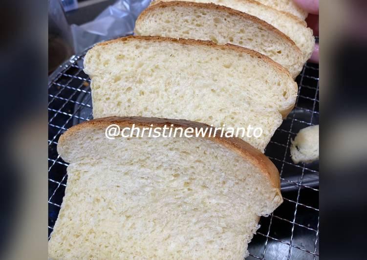 Resep Resep Roti Tawar Lembut Hokkaido Milk Bread(tanpa pelembut)Metode Waterroux Bikin Ngiler