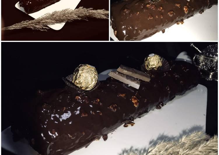 Biscuit roulée au chocolat