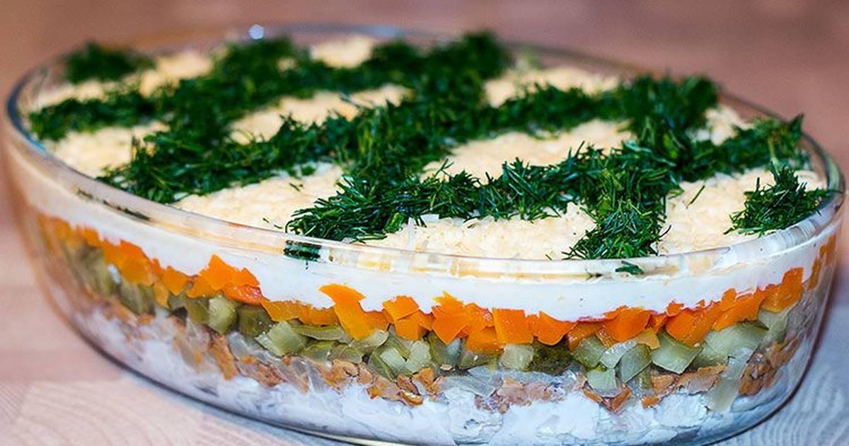 внимание рецепты салатов слоями с фотографиями только