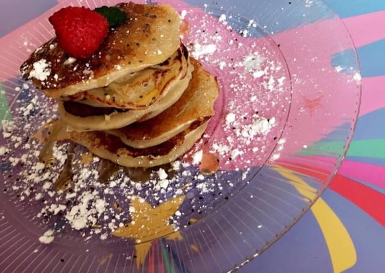 Le moyen le plus simple de Faire Délicieuse Pancakes banane Simplissime