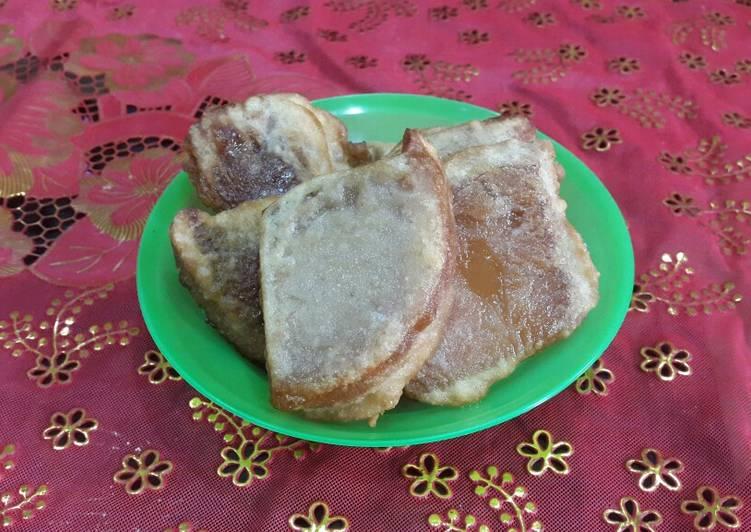 Kue keranjang/ dodol cina goreng simple - cookandrecipe.com