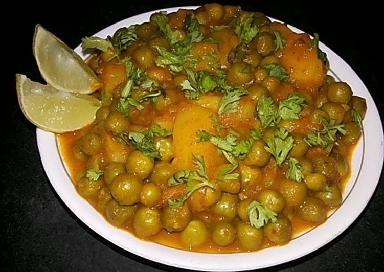 How to  Aloo matar curry in pressure cooker